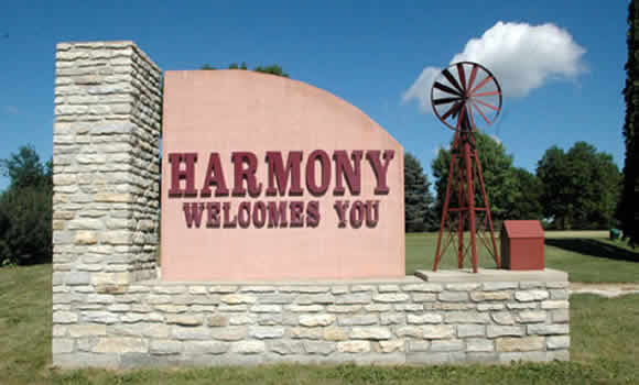 Harmony, Minnesota, Bluff Country, Amish, Niagara Cave, Tours, Fourth of July, Celebration, Jem Movie Theatre, Furniture, Heco, Harmony Enterprise, Haunted Harmony, Monster Bash, Fillmore Central, High School, Elementary School, On the Crunchy Side, Estelle's, Eatery, Harmony Spirits, R and J Amish Furniture, Harmony Gardens, Quilts, Baskets, Buggy, Horse, Camping, Tubing, Canoe, Kayak, Goods, Farmers Market, Antiques, Antique Mall, Craft Beer, Brewery, Distillery, Hand Made, Preston, MN State Veterans Cemetery, Veterans Home, Trout Center, Trout Fishing, Root River, Root River Bike Trail, Harmony Preston Bike Trail, Biking, Skating, Roller Skating, Skiing, Movie Camp, Kingsley Mercantile, Harmony House, Where to Eat, Where to Stay, Lodging, Breakers, Village Depot, Seed Savers, Karst Brewing, Lanesboro, Canton, Mabel, Peterson, Rushford, Whalan, Fountain, Chatfield, Le Roy, Ostrander, Cresco, Decorah, Commonweal Theatre, International Owl Center, Building Incentives, Golden Happenings, Fall Fest, Breakfast with Santa, Molly B. Jim Busta Band, Cave Tours, Miniature Golf. Golf, Picnic, Walking Tour, Historic, Fillmore County, Farming, Agri, Spring Grove, Scenic Byway, 60 mile garage sale, Laura Ingalls Wilder, Burr Oak, Rustic Weddings, hunting, fishing, wildlife, van tour, car tour, self-guided tour, Rochester, Mayo Clinic, fossils, stalactites, Forestville, Mystery Cave, State Park, B&B, hotel, vacation rentals, retreats, business, honey, dining tables, Amish Wood Bed, Maple Syrup, Event Centers, destination, Sink Holes, Driftless Region, Holiday Fest, Craft Show, Car Show, Falcon's Nest, Homes for Sale, Lots for Sale, Buildable Lots, Vacation Home, Hobby Farm, Rushford Foods, Harmony Foods, Preston Foods, Branding Iron, Old Barn Resort, Steam Engine Days, Buffalo Bill Days, Western Days, Hwy 52, Hwy 63, Four Daughters Winery, Topping Goliath, Motorcycle Rides, Family Friendly, Parks, Disc Golf, Playgrounds, Pizza, Ice Cream, Farm to Table, Catering, Real Estate, Destination Medical Center,