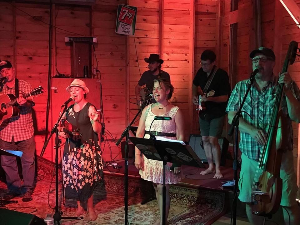 Potluck String Band at Harmony Spirits